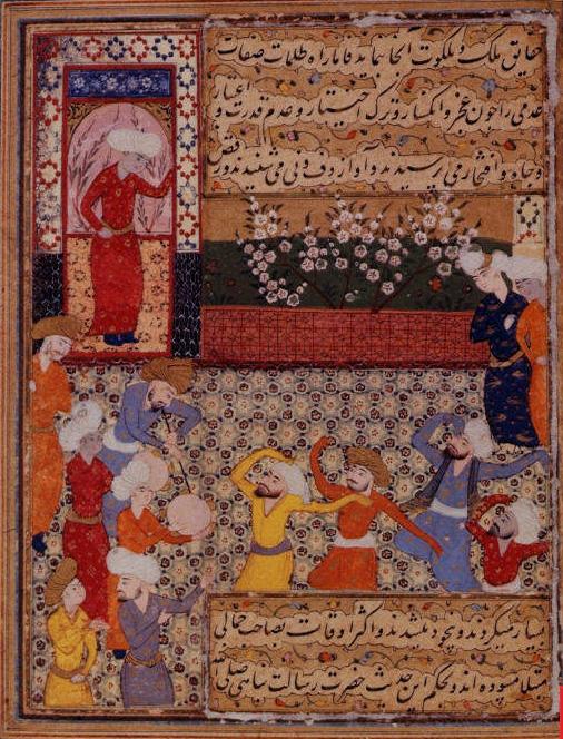 The Persian Rose Garden
